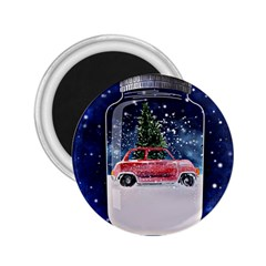 Winter Snow Ball Snow Cold Fun 2 25  Magnets by Nexatart
