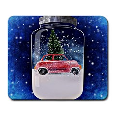 Winter Snow Ball Snow Cold Fun Large Mousepads