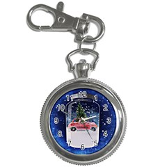 Winter Snow Ball Snow Cold Fun Key Chain Watches by Nexatart