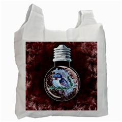 Winter Snow Ball Snow Cold Fun Recycle Bag (two Side)  by Nexatart