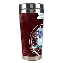 Winter Snow Ball Snow Cold Fun Stainless Steel Travel Tumblers by Nexatart