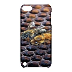 Worker Bees On Honeycomb Apple Ipod Touch 5 Hardshell Case With Stand
