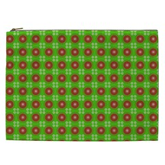 Wrapping Paper Christmas Paper Cosmetic Bag (xxl)