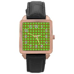 Wrapping Paper Christmas Paper Rose Gold Leather Watch  by Nexatart