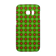 Wrapping Paper Christmas Paper Galaxy S6 Edge by Nexatart