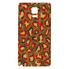 Stylized Background For Scrapbooking Or Other Galaxy Note 4 Back Case