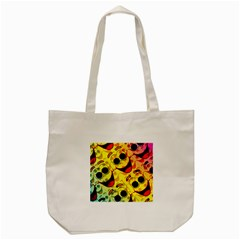 Abstract Background Backdrop Design Tote Bag (cream)