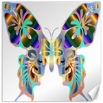 Abstract Animal Art Butterfly Canvas 16  x 16   16 x16 Canvas - 1