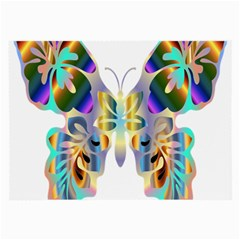 Abstract Animal Art Butterfly Large Glasses Cloth by Amaryn4rt