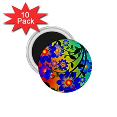 Abstract Background Backdrop Design 1 75  Magnets (10 Pack)  by Amaryn4rt