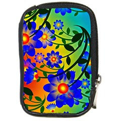 Abstract Background Backdrop Design Compact Camera Cases by Amaryn4rt