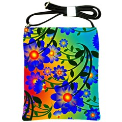 Abstract Background Backdrop Design Shoulder Sling Bags by Amaryn4rt