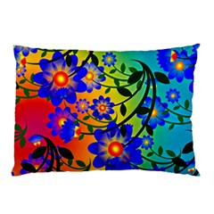 Abstract Background Backdrop Design Pillow Case (two Sides) by Amaryn4rt
