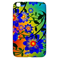 Abstract Background Backdrop Design Samsung Galaxy Tab 3 (8 ) T3100 Hardshell Case  by Amaryn4rt