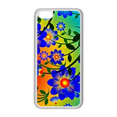 Abstract Background Backdrop Design Apple Iphone 5c Seamless Case (white) by Amaryn4rt