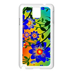Abstract Background Backdrop Design Samsung Galaxy Note 3 N9005 Case (white) by Amaryn4rt