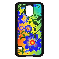 Abstract Background Backdrop Design Samsung Galaxy S5 Case (black) by Amaryn4rt