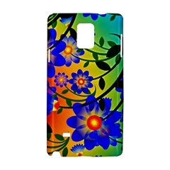 Abstract Background Backdrop Design Samsung Galaxy Note 4 Hardshell Case by Amaryn4rt