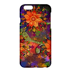 Abstract Flowers Floral Decorative Apple Iphone 6 Plus/6s Plus Hardshell Case by Amaryn4rt