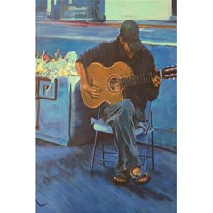 Man And His Guitar 5 5  X 8 5  Notebooks by digitaldivadesigns