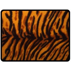 Animal Background Cat Cheetah Coat Fleece Blanket (large)
