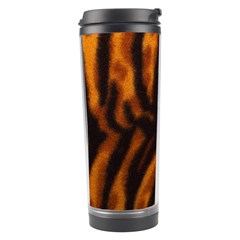 Animal Background Cat Cheetah Coat Travel Tumbler by Amaryn4rt