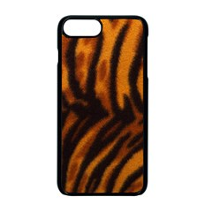 Animal Background Cat Cheetah Coat Apple Iphone 7 Plus Seamless Case (black) by Amaryn4rt