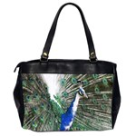 Animal Photography Peacock Bird Office Handbags (2 Sides)  Back