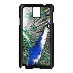 Animal Photography Peacock Bird Samsung Galaxy Note 3 N9005 Case (black) by Amaryn4rt