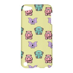 Animals Pastel Children Colorful Apple Ipod Touch 5 Hardshell Case by Amaryn4rt