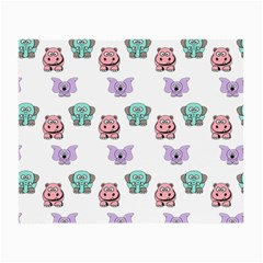 Animals Pastel Children Colorful Small Glasses Cloth (2 Side)