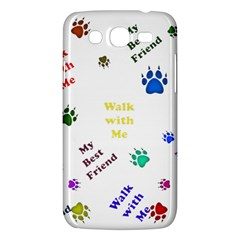 Animals Pets Dogs Paws Colorful Samsung Galaxy Mega 5 8 I9152 Hardshell Case  by Amaryn4rt