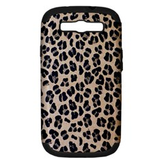 Background Pattern Leopard Samsung Galaxy S Iii Hardshell Case (pc+silicone) by Amaryn4rt