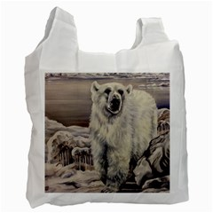 Polar Bear Recycle Bag (two Side)