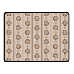 Background Rough Stripes Brown Tan Fleece Blanket (small) by Amaryn4rt