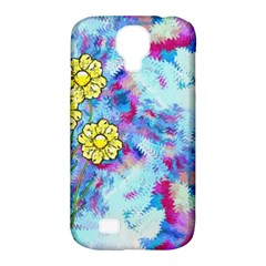 Backdrop Background Flowers Samsung Galaxy S4 Classic Hardshell Case (pc+silicone)