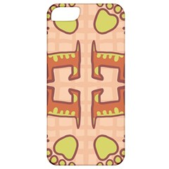 Dog Abstract Background Pattern Design Apple Iphone 5 Classic Hardshell Case