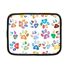 Colorful Prismatic Rainbow Animal Netbook Case (small)