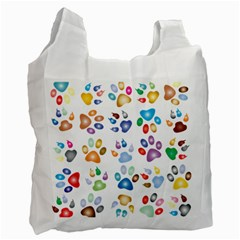 Colorful Prismatic Rainbow Animal Recycle Bag (one Side)