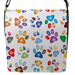 Colorful Prismatic Rainbow Animal Flap Messenger Bag (s) by Amaryn4rt