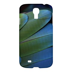 Feather Parrot Colorful Metalic Samsung Galaxy S4 I9500/i9505 Hardshell Case by Amaryn4rt