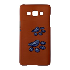 Footprints Paw Animal Track Foot Samsung Galaxy A5 Hardshell Case  by Amaryn4rt