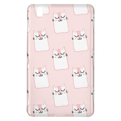 Pattern Cat Pink Cute Sweet Fur Samsung Galaxy Tab Pro 8 4 Hardshell Case by Amaryn4rt
