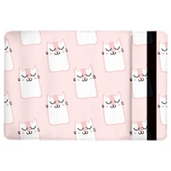 Pattern Cat Pink Cute Sweet Fur Ipad Air 2 Flip by Amaryn4rt