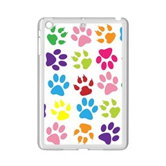 Paw Print Paw Prints Background Ipad Mini 2 Enamel Coated Cases
