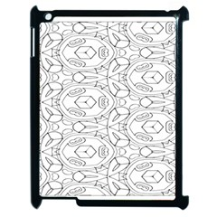Pattern Silly Coloring Page Cool Apple Ipad 2 Case (black)