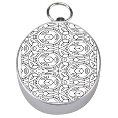 Pattern Silly Coloring Page Cool Silver Compasses