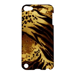 Pattern Tiger Stripes Print Animal Apple Ipod Touch 5 Hardshell Case by Amaryn4rt