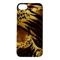 Pattern Tiger Stripes Print Animal Apple Iphone 5s/ Se Hardshell Case by Amaryn4rt