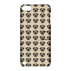 Puppy Dog Pug Pup Graphic Apple Ipod Touch 5 Hardshell Case With Stand by Amaryn4rt